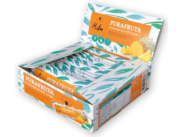 Hiba Purafruta Energy Bar Box 12x30g, Pineapple